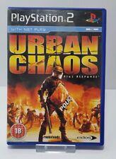 Urban Chaos: Riot Response Playstation 2 Game  - PS2