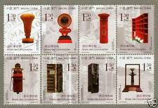 China Macau Macao 2006 the Museums of Communication Stamps