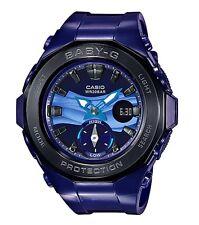 Casio Baby-G * BGA220B-2A Beach Glamping Black & Violet Anadigi MOM17 COD PayPal