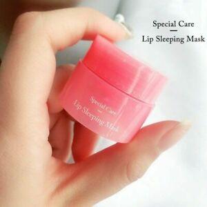Laneige Lip Mask Night Sleep 3g berry Korea Cosmetic Lip Care Pink Lips Balm