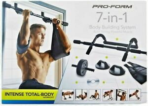 ProForm 7in1 Full SET Body Home Gym Fitness Building Core Body Weight Pull Push