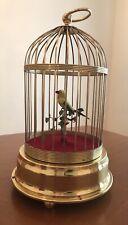 Vintage Birdcage Automaton