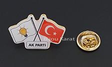 Ak Parti Türkei Flagge Fahne Rozeti Rozet Anstecknadel Pin Recep Erdogan Brosche