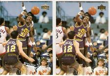 KARL MALONE ELECTRIC COURT LOT 1994-95 UPPER DECK THE ROOKIE YEARS 142 UTAH JAZZ