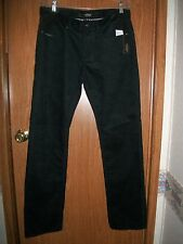 NWT ALPINESTARS BLACK SHIFTER CORD SLIM FIT PANTS Size 30 x 32
