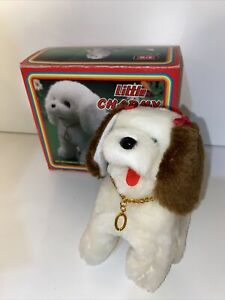 VINTAGE LITTLE CHARMY TOY PUPPY BATTERY OPERATED DOG