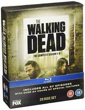 The Walking Dead The Complete Season 1-5 Blu Ray Boxset Collection Region B New