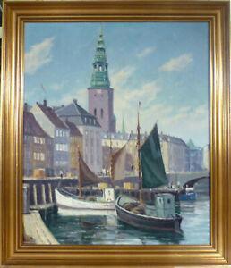 EINAR GROSS! SCENERY FROM COPENHAGEN.