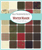 Winter Manor by Holly Taylor for Moda 100% Cotton Scrap Bag Approx 1/2 lb.