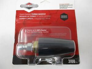 Turbo Nozzle Briggs & Stratton 6195 3100 PSI Quick Connect Pressure Washer