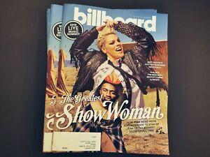 P!NK PINK Billboard Magazin 2019 Alecia Moore