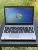 HP ProBoook Laptop With Microsoft Office Core i5 8GB RAM 500 GB Windows 7 Pro