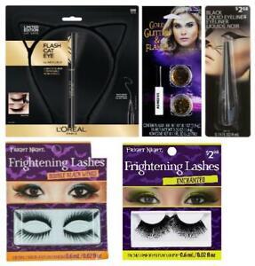 LOT OF 5 - Multi-Brand Halloween Limited Edition Cat Ears & Makeup Kit Bundle