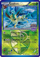 Leafeon 11/116 Reverse Holo Rare Pokemon State Championships NM With Tracking