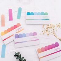 Cute Kawaii Sticky Notes Post Memo Pad School Supplies Sticker Planner U9J5
