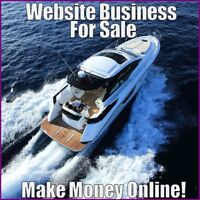 Fully Stocked BOATING Website Business|FREE Domain|FREE Hosting|FREE Traffic