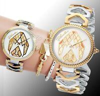 Just Cavalli jc1L045M0095 magnifica armbanduhr damenuhr zweifarbig neu