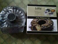 BAMA 4 piece bakeware set