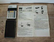 Canon Palmtronic 8 S Taschenrechner.Vintage.