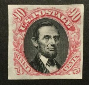 TDStamps: US Stamps Scott#122P3 90c Pictorials Unused NH NG Proof