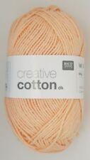 Lanas e hilos color principal rosa de algodón
