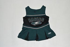 Philadelphia Eagles NFL Toddler Girls' Cheerleader Jumper 3-6 Months---B28