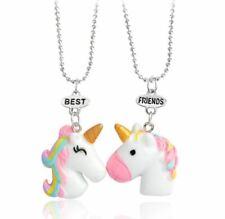 Best Friends Unicorn Buddies Necklace