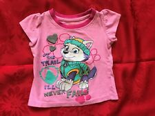 nickelodeon Paw Patrol (Everest) ~ Pink short sleeve Baby Tee-Shirt ~ Size 2T