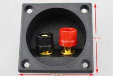 2pcs Square Copper Speaker Box Terminal Binding Post for Speaker Parts 57x57mm