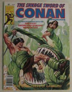 MARVEL -THE SAVAGE SWORD OF CONAN COMIC MAGAZINE  ISSUE #42 -1979 - HIGH GRADE