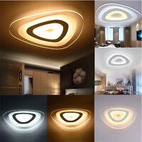 12W Modern Ultrathin LED Lamp Flush Mount Ceiling Light Mango 3-Color  UK Y