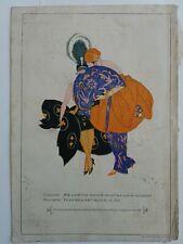 1926 Listerine mouthwash Caroline Elizabeth chat Myron Perley art color ad