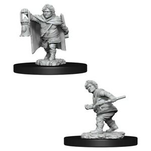 Adventurers Nolzur's Marvelous Unpainted Minis: Male Halfling Rogue