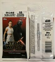 LOT OF 2 SEALED UNOPENED 2019 TOPPS JOURNEY TO STAR WARS:THE RISE OF SKYWALKER