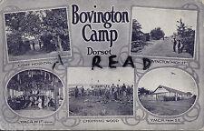 Tinted Multi View showing scenes of Bovington Camp Dorset 1918