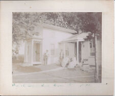 1893 CABINET PHOTO DIXON IL ANDY KENTNER RESIDENCE