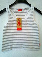 Gestreifte Mädchen-Tops,-T-Shirts & -Blusen im Trägertop-Stil mit Rundhals