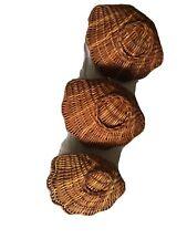 Wicket Basket Shells - 3 In Set