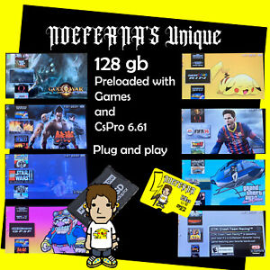 128GB Memory Stick w/ MS Pro Duo Adapter Card for PSP Cybershot Camera NEW