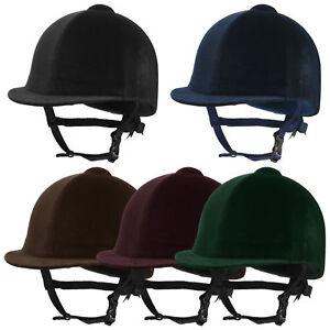 Champion Euro Riding Hat, Velvet riding hat, horse riding hat