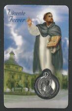 Holy card de San Vicente Ferrer santino image pieuse estampa