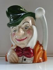 Vintage Mr Micawber Toby Jug - Hand Painted by Artone Made In England