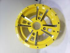 John Deere xuv 550 Gator Rim 12x6 4 lug bolt aluminum alloy wheel Oem yellow 590