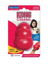 Kong Classic Red durable dog chew toy Stuff with treats or pastes - 3 sizes