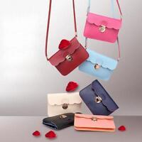 Womens Leather Shoulder Bag Satchel Clutch Handbag Tote Purse Hobo Messenger New