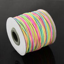 1 x Multi Colour Rainbow Elastic Cord 10 Metre x 1mm Thong Cord