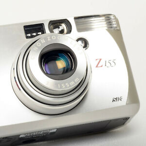 Canon Sure Shot Z155 Film CAMERA 37-155mm ZoomLens 35mm Point & Shoot SelfTimer
