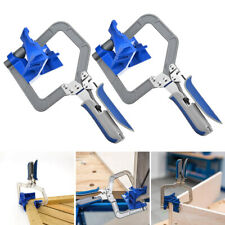 Woodworking Corner Clamp 90° Corner & T Joints Multifunction Tools for Kreg Jigs