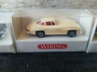 WICKING Mercedes Benz 300 SL 1/87 Mini Model BRAND NEW pick color GULL WING