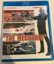 The Mechanic (1972) [2014 blu-ray] Twilight Time : OOP Like New Charles Bronson